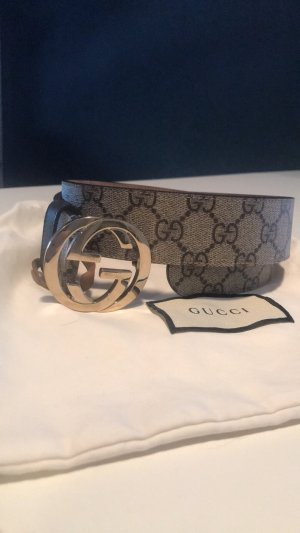 Gucci Cintura in tela multicolore