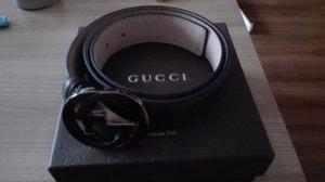 Gucci Guertel neu braun