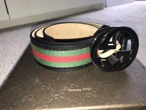 Gucci Gürtel Rot/Grün Größ 85