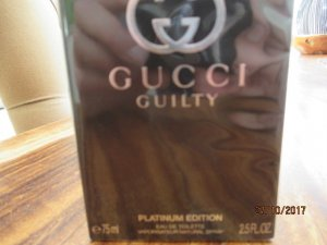 GUCCI Guilty Platinum Edition Edt 75 ml