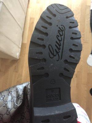 Gucci Botas de agua color oro-negro