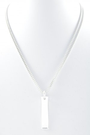 Gucci Necklace silver-colored street-fashion look