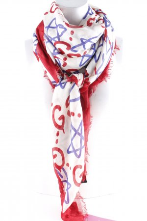 "Gucci Neckerchief ""GucciGhost Shawl Red"""