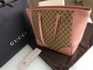 Gucci Bandolera rosa-beige Cuero
