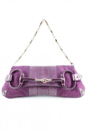 Gucci Handbag brown violet casual look