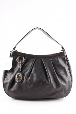 "Gucci Handbag ""Guccissima Charm Sukey"" black brown"