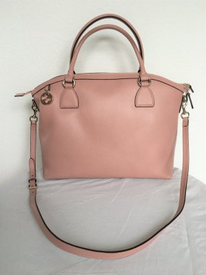 Gucci Handbag dusky pink leather