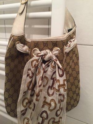 Gucci Handbag grey brown-camel