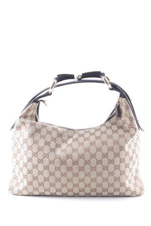 Gucci Handtasche Schriftzug gestickt Elegant