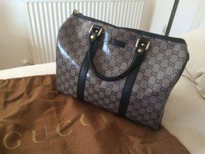 Gucci Handtasche schwarz-grau