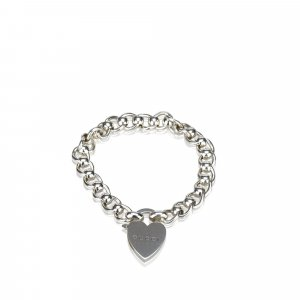 Gucci Heart Charm Bracelet