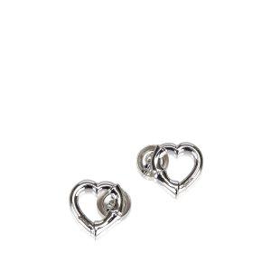 Gucci Heart Silver Earrings