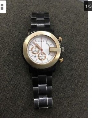 Gucci Watch black-anthracite
