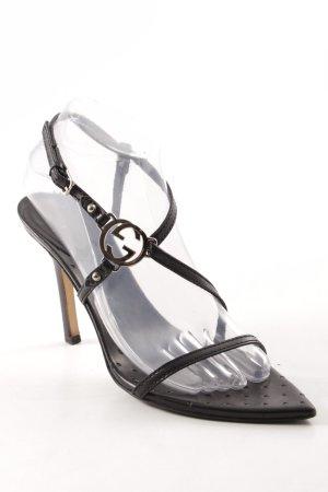 Gucci High Heel Sandal black elegant