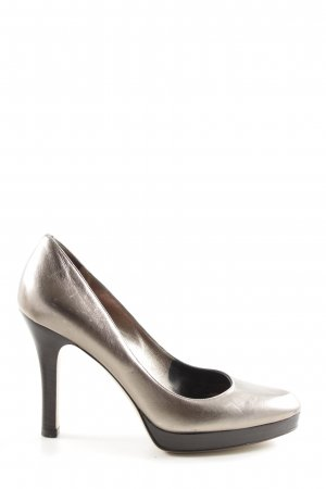 Gucci High Heels silberfarben Elegant