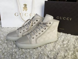 Gucci Zapatillas altas multicolor Lino
