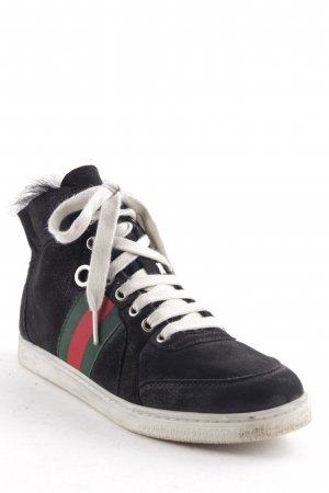 Gucci High Top Sneaker multicolored urban style