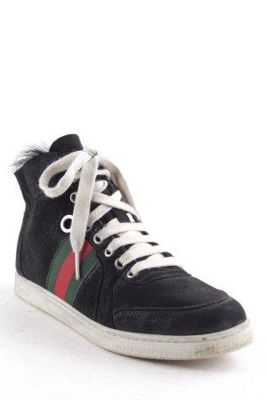 Gucci High Top Sneaker mehrfarbig Urban-Look