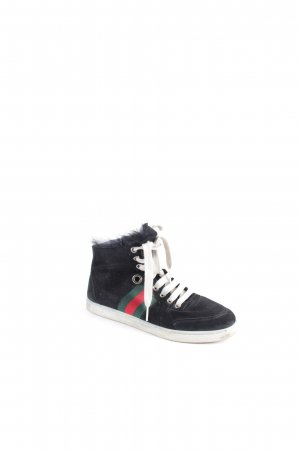 Gucci High Top Sneaker mehrfarbig Urban-Look