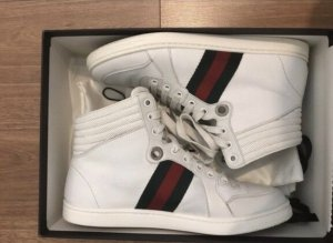 Gucci high top Sneaker weiß