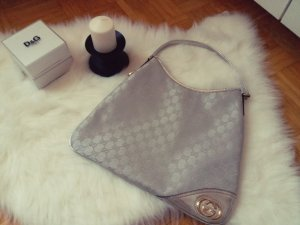 Gucci Hobo Silber Tasche