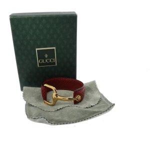Gucci Bracelet rouge cuir