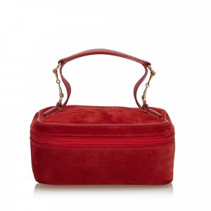 Gucci Make-up Kit red suede
