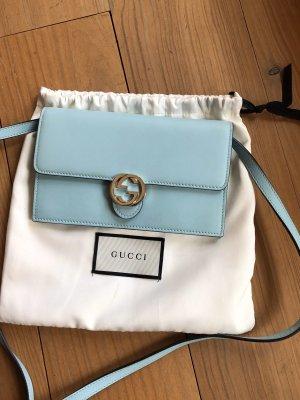 Gucci Clutch light blue