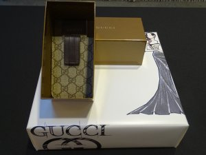 Gucci iPhone 4 Hülle Handytasche