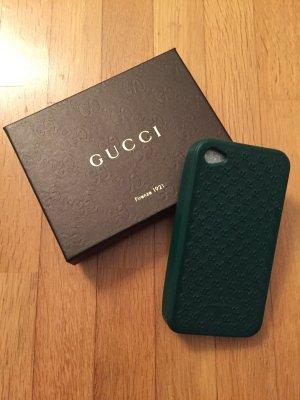 Gucci iPhone Silikon Cover grün für die Modelle 4/4S