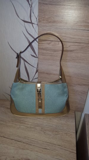 Gucci Jackie Tasche in mint gold