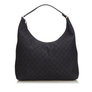 Gucci Jacquard GG Hobo Bag
