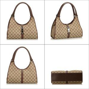 Gucci Jacquard GG Jackie Shoulder Bag