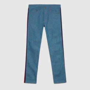 Gucci Jeans blu-rosso
