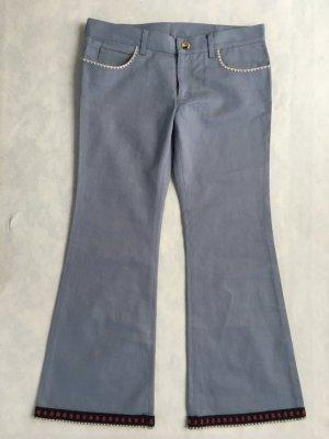 Gucci, Jeans Short Flare Pant, blau, 40/42 (W 31), Baumwolle, neu, € 800,-