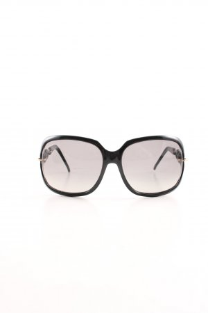 Gucci Square Glasses black elegant