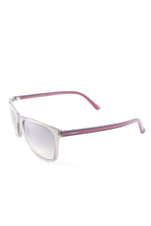 Gucci Vierkante bril veelkleurig casual uitstraling