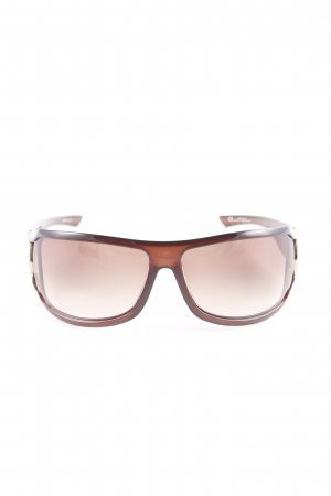 Gucci Square Glasses multicolored extravagant style