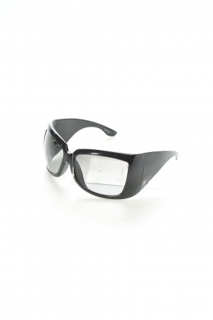 Gucci Square Glasses black synthetic material