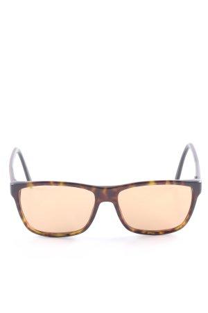 Gucci Vierkante bril schildpad patroon klassieke stijl