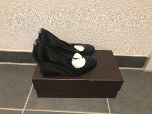 Gucci Zapatos de cuña negro