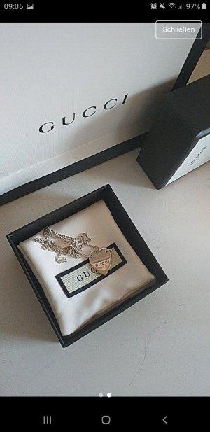 Gucci Chaîne en argent argenté