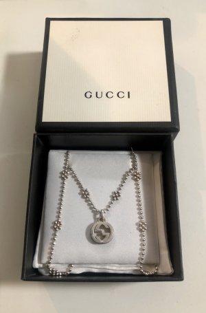 Gucci Collar color plata
