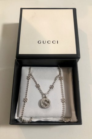 Gucci Collar color plata