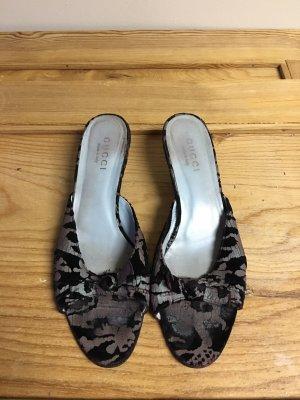 Gucci Kitten Heel Sandaletten