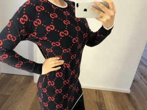 Gucci Sweater Dress dark blue-red