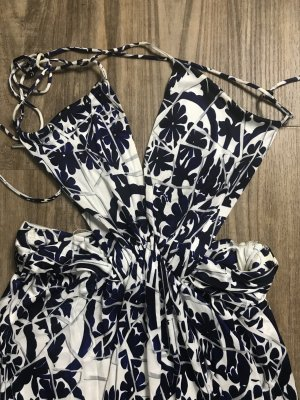 Gucci Dress white-dark blue