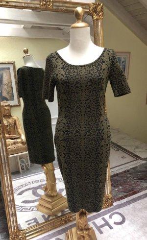 GUCCI Kleid, in Farbe Grün/Schwarz, Gr. D38, M