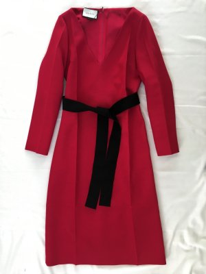 Gucci, Kleid, rot, 38/40 (It. 44),  66 % Seide, 34 % Wolle, neu, € 1.600,-