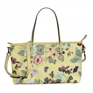 Gucci Kris Knight Floral Tasche in Pale Yellow